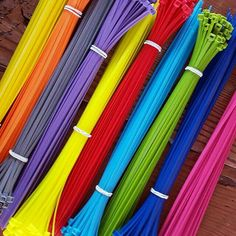 Spice up your signage with our color zip ties!! Only a buck and every color in the rainbow too You'll find them under accessories @ www.allthingsrealestatestore.com