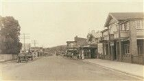 Princes Highway in Batemans Bay,New South Wales in the Bay News, Old Postcards, Indiana, Street View, Australia, History, South Wales, Painting, Outdoor