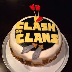 Awesome pictures of clash of clans : what does clash of clans cake look like? 1