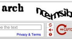 Old way of proving you're human by interpreting  CAPTCHAs on the way out.
