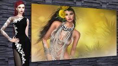 Sims 4 CC's - The Best: Aura Meads Pictures by The Reds Studio