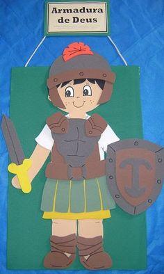 Armadura de Deus O que é armadura? Armadura é um tipo de roupa especial usada como proteção. Por que nós precisamos de uma armadura...