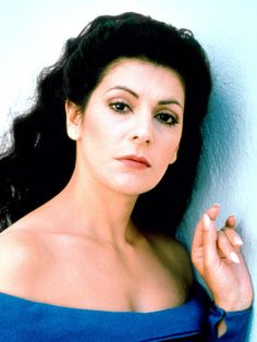 Star Trek: The Next Generation  Marina Sirtis as Counselor Deanna Troi