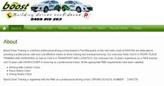 Get yourself trained from experienced driving instructors to drive professionally at http://www.boostdrivertraining.com.au/ which is a certified Port Macquarie Driving School for driver's training and licensing. For more details call on 0455 810 253.