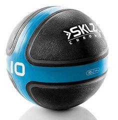 GEWICHTEN- Medicijnbal 4,5 kg: Rubberen medicijnbal met een uitstekende grip. Een medicijnbal heeft een diameter die ongeveer gelijk is aan de breedte van de schouders en worden vaak gebruikt bij fyshiotherapie, sportschool, maar ook steeds vaker bij thuisfitness. Een medicijnbal is de perfecte trainingsmethode voor het versterken van de spieren. De medicijnballen zijn verkrijgbaar in verschillende gewichten van 1 t/m 7 kg. Prijs per stuk: € 37,50 to € 79,95