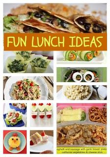 Beyond A Sandwich, Fun School Lunch Ideas