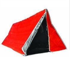 Insulated Aluminized Survival Tube Tent $19.49
