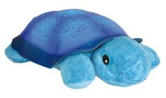 Baby: Cloud B Twilight Turtle Plush Nightlight (Blue) [UK & Ireland Only - Buy New: £20.99 ] []Full night sky projection on ceiling and walls []Three star color options: Bright Blue, Bright Green and Soft Amber []8 different constellations []Shell illuminates for a calming effect []Auto shut-off - 45 minute sleep timer -Three AAA batteries included