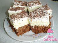 Fincsi receptek: Krémes sütik Cake Bars, Hungarian Recipes, Sweet And Salty, Tiramisu, Food And Drink, Cooking Recipes, Sweets, Baking, Ethnic Recipes