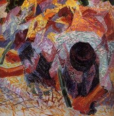 I selciatori (1914) Umberto Boccioni