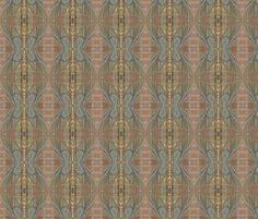 Mayfly Hourglass  fabric by zsmama on Spoonflower - custom fabric