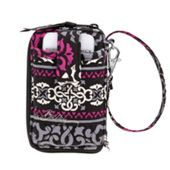 Carry It All Wristlet in either Canterberry Magenta or Blue Bayou