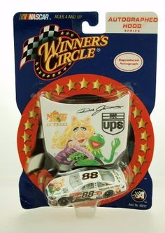 Dale Jarrett #88 UPS The Muppet Show 25th Anniversary Kermit Miss Piggy 1/64 Scale Diecast With Bonus Magnet Hood Winners Circle 2002 Edition by Winners Circle. $8.99. Hood and Trunk DO NOT open on this car. Dale Jarrett #88 UPS The Muppet Show 25th Anniversary Kermit Miss Piggy 1/64 Scale Diecast With Bonus Magnet Hood Winners Circle 2002 Edition. Dale Jarrett #88 UPS The Muppet Show 25th Anniversary Kermit Miss Piggy 1/64 Scale Diecast With Bonus Magnet Hood Winners...