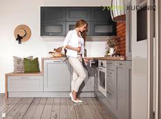 AMBRA POPIEL, GRAFIT - zdjęcie od WFM KUCHNIE - Kuchnia - Styl Klasyczny - WFM KUCHNIE