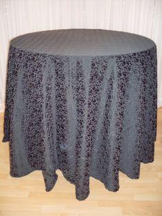 Black Swirl linen #black #pattern #texture #linen #chairdecor #linenfactory #event #finelinen