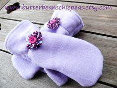 Fleece Mittens Sewing Pattern