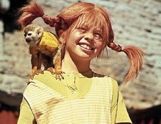 pippi longstocking. I wanted to be pippi when I was a kid - lol....looking at this picture, I can't understand why! ...hs