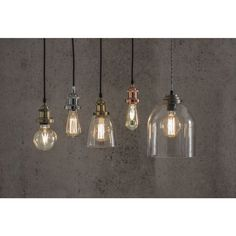 Wilko Suspension Lighting Kit Copper Effect