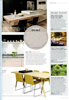 DesignSpaceLondon have opened a new London showroom on Wigmore Street in  the West End  Essential Kitchen Bathroom Bedroom June 2014Pinterest   The world s catalog of ideas. Essential Kitchen And Bathroom Business Magazine. Home Design Ideas