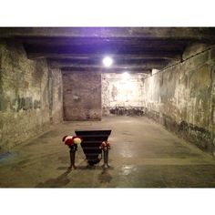Inside the last standing Auschwitz gas chamber.What they did to them is such an outrage..most people rather not show some of these pic. but its the truth! It really happened!!!