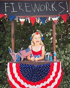 Fireworks stand prop for photography of july photography, photography props, lemonade stand photography 4th Of July Photography, Party Photography, Photography Ideas, 4th Of July Party, Fourth Of July, Lemonade Stand Photography, Firework Stands, Photo Props, Photo Backdrops