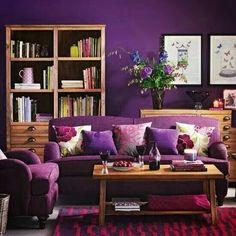 Livingroom Purple Love It