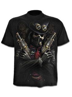 Tee-shirt homme Punk Rock Spiral #gothic #gothicfashion #gothicart