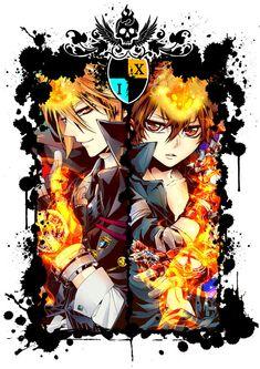 Manga Cosplay Prince the Ripper - Hitman Reborn, Reborn Katekyo Hitman, Manga Anime, Fanarts Anime, Anime Guys, Anime Art, Reborn Anime, Mafia, Bishounen