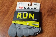 Injinji Sock review! #socks #exercise #health #healthy #fit #fitness #fitfam #tiu #review #run #compression #toes #blisters #trail