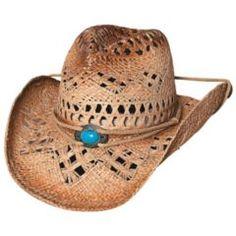 Straw cowboy hat!