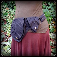 Leaf Pocket Belt ~ Utility Belt ~ Black Canvas Fabric ~ Green Man Elf Forest ~ Adjustable from Small to Extra Large ~ unisex Greenman by TalismanaDesigns on Etsy https://www.etsy.com/listing/168904975/leaf-pocket-belt-utility-belt-black