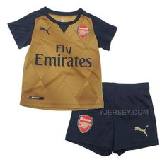 http://www.yjersey.com/1516-arsenal-away-golden-childrens-jersey-kitshirtshort.html Only$27.00 15-16 ARSENAL AWAY GOLDEN CHILDREN'S JERSEY KIT(SHIRT+SHORT) Free Shipping!