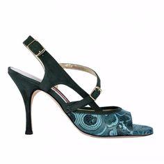 TANGOLERA A19B BLEU-T9<br>Chaussure de tango