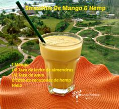 Smoothie De Mango & Hemp