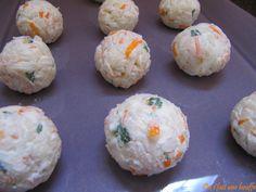 Boulettes apéritives au surimi.