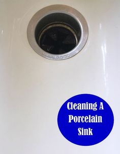 Cleaning Tip Tuesday: Cleaning A Porcelain Sink