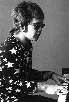 Elton John photographed by Jack Robinson, 1970