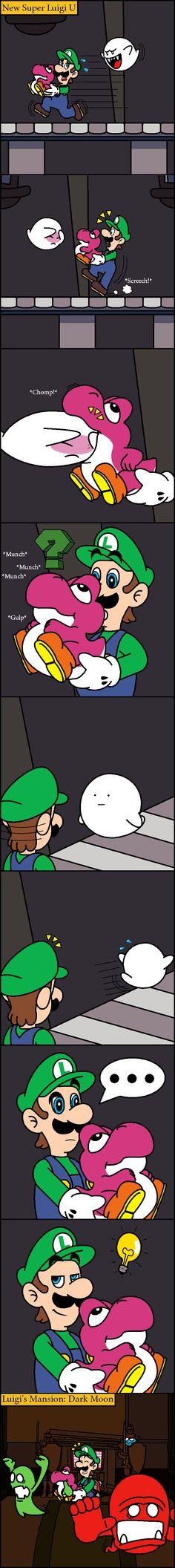Ghost snacks by Blistinaorgin.deviantart.com on @deviantART Lugi Nintendo from Original