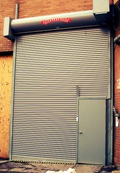 Attractive Rolling Steel Commercial Door