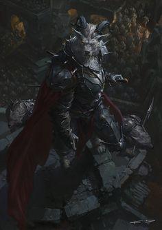 Random Fantasy/RPG artwork I find interesting,(*NOT MINE) from Tolkien to D&D. Fantasy Artwork, Dark Fantasy Art, Fantasy Paintings, Fantasy Races, Fantasy Warrior, Vampires And Werewolves, Creature Concept, Twilight Princess, Fantasy Inspiration