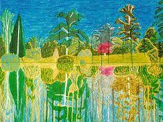 Pallant House exhibition pays tribute to British landscape painter Adrian Berg Park Landscape, Landscape Paintings, Texture Painting, Painting & Drawing, Royal College Of Art, Naive Art, Contemporary Artists, Garden Art, Art Inspo
