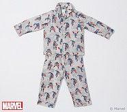 Captain America Flannel Pajamas, Size 2T