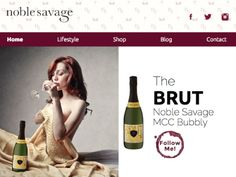 Noble Savage Wines  #design #websitedesign #webdevelopment #web #responsive  http://knowndesign.co/noble-savage/