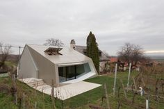 Strobl Winery par March Gut & Wolfgang Wimmer - Journal du Design