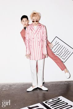 T x Crush - Vogue Girl Magazine March Issue Korean Model, Korean Singer, Jonghyun, Michael Jackson, Zion T, Shinee Members, Indie, Zico, Row Row Your Boat