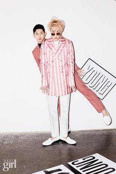Zion.T & Crush - Vogue Girl Korea March 2015
