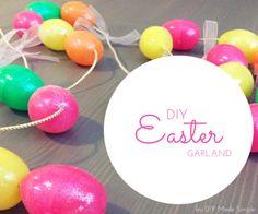 Easter Garland Tutorial – Indie Crafts