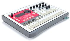 """""""Korg has created the ultimate analog beat machine. Simply by tweaking the knobs on the ELECTRIBE R, you have unlimited control over Vintage Synth, Vintage Keys, Recording Equipment, Audio Music, Drum Machine, Dynamic Design, Music Production, 1 Image, Percussion"""