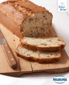 Here's the best thing since sliced bread: sliced banana bread. And not just any banana bread, cream cheesy banana bread.