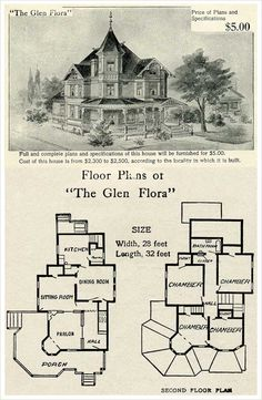 vintage Victorian House Plans | CLASSIC VICTORIAN HOME PLANS ...